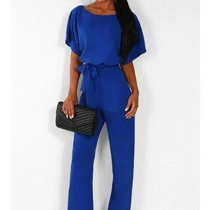 New blue jumpsuit